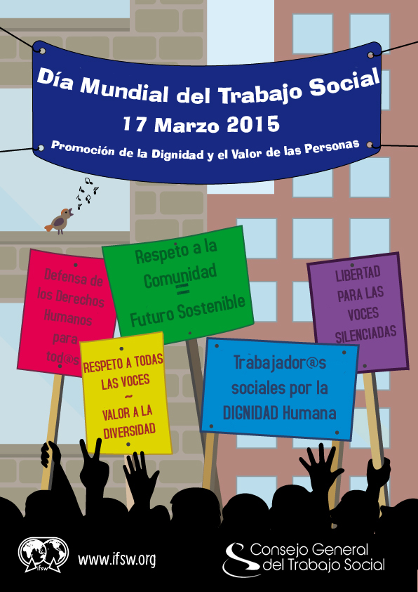 día internacional del trabajo social 2015 - trabajo social